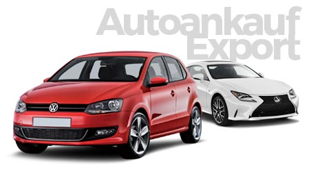 Auto-ankauf von Gebrauchtwagen für Export